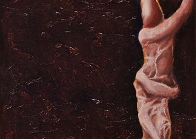 "Nerve,  שמן על קנווס, 60x40 ס""מ, 2006."